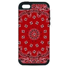 Bandana Apple Iphone 5 Hardshell Case (pc+silicone)