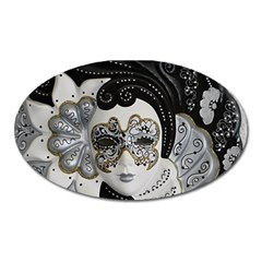 Venetian Mask Magnet (oval) by StuffOrSomething