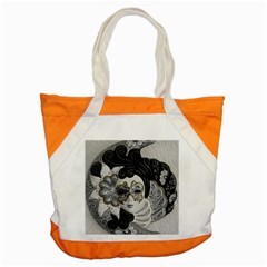 Venetian Mask Accent Tote Bag by StuffOrSomething