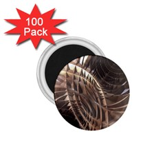 Copper Metallic 1 75  Magnet (100 Pack)  by CrypticFragmentsDesign