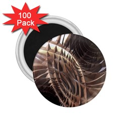 Copper Metallic 2 25  Magnet (100 Pack)  by CrypticFragmentsDesign