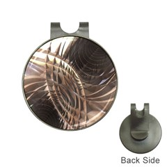 Copper Metallic Golf Ball Marker Hat Clip by CrypticFragmentsDesign