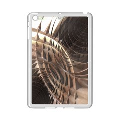 Copper Metallic Apple Ipad Mini 2 Case (white) by CrypticFragmentsDesign