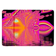 Magenta Boardwalk Carnival, Abstract Ocean Shimmer Samsung Galaxy Tab 8 9  P7300 Flip Case by DianeClancy