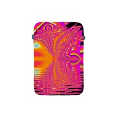 Magenta Boardwalk Carnival, Abstract Ocean Shimmer Apple Ipad Mini Protective Sleeve by DianeClancy