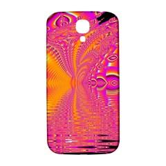 Magenta Boardwalk Carnival, Abstract Ocean Shimmer Samsung Galaxy S4 I9500/i9505  Hardshell Back Case by DianeClancy