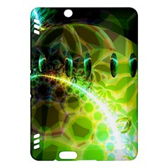 Dawn Of Time, Abstract Lime & Gold Emerge Kindle Fire HDX 7  Hardshell Case