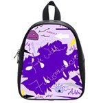Life With Fibro2 School Bag (Small) Front
