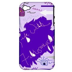 Life With Fibro2 Apple Iphone 4/4s Hardshell Case (pc+silicone) by FunWithFibro