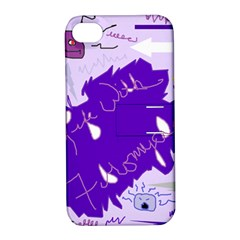 Life With Fibro2 Apple Iphone 4/4s Hardshell Case With Stand by FunWithFibro