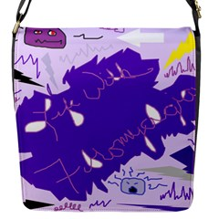 Life With Fibro2 Flap Closure Messenger Bag (small) by FunWithFibro