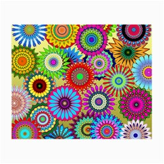 Psychedelic Flowers Glasses Cloth (small) by StuffOrSomething