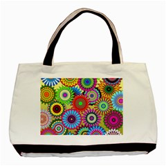 Psychedelic Flowers Classic Tote Bag by StuffOrSomething