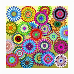Psychedelic Flowers Canvas 16  X 16  (unframed) by StuffOrSomething