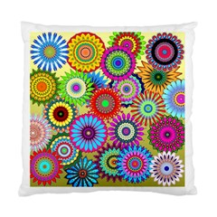Psychedelic Flowers Cushion Case (single Sided)  by StuffOrSomething