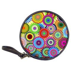 Psychedelic Flowers Cd Wallet by StuffOrSomething