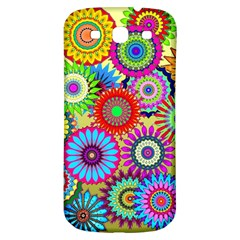 Psychedelic Flowers Samsung Galaxy S3 S Iii Classic Hardshell Back Case by StuffOrSomething