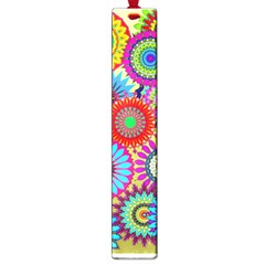 Psychedelic Flowers Large Bookmark by StuffOrSomething