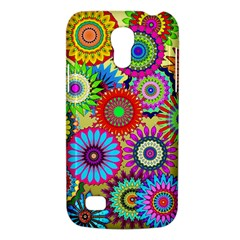 Psychedelic Flowers Samsung Galaxy S4 Mini (gt I9190) Hardshell Case  by StuffOrSomething