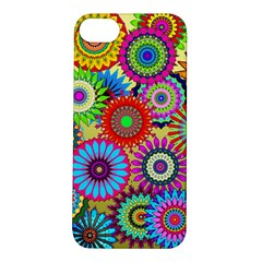 Psychedelic Flowers Apple Iphone 5s Hardshell Case by StuffOrSomething
