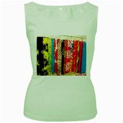 Sarongs(lavalava) Women s Tank Top (green) by AJ1718