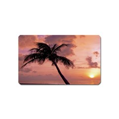 Sunset At The Beach Magnet (name Card) by StuffOrSomething