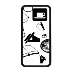 Books And Coffee Apple Iphone 5c Seamless Case (black) by StuffOrSomething