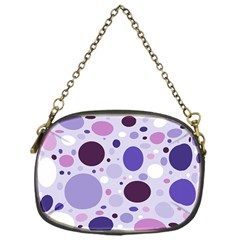 Passion For Purple Chain Purse (one Side)