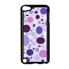 Passion For Purple Apple Ipod Touch 5 Case (black)