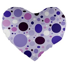 Passion For Purple 19  Premium Heart Shape Cushion