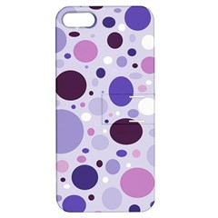 Passion For Purple Apple iPhone 5 Hardshell Case with Stand by StuffOrSomething