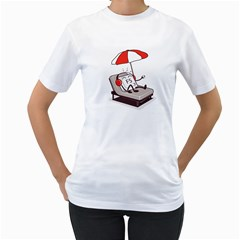 F5 Refresh! Women s T Shirt (white)