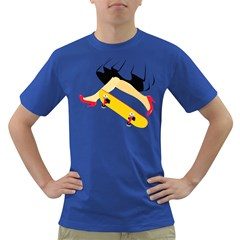 Cinderella Skaters Men s T Shirt (colored)