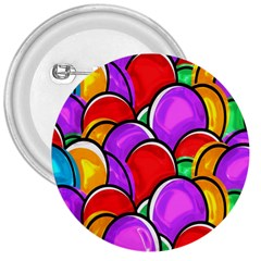 Colored Easter Eggs 3  Button by StuffOrSomething