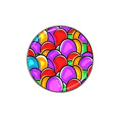 Colored Easter Eggs Golf Ball Marker 10 Pack (for Hat Clip) by StuffOrSomething