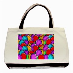 Colored Easter Eggs Classic Tote Bag by StuffOrSomething