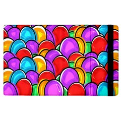 Colored Easter Eggs Apple Ipad 2 Flip Case by StuffOrSomething