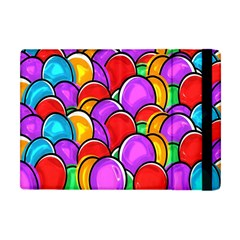 Colored Easter Eggs Apple Ipad Mini Flip Case by StuffOrSomething
