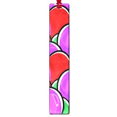 Colored Easter Eggs Large Bookmark by StuffOrSomething