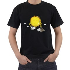 Spring Cleaning Men s T Shirt (black)