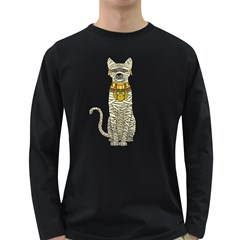 Ancient Cat Return Men s Long Sleeve T Shirt (dark Colored) by Contest1836099