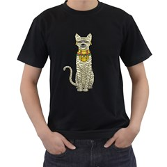 Ancient Cat Return Men s T Shirt (black)
