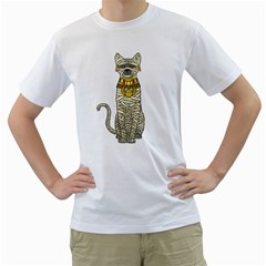 Ancient Cat Return Men s T Shirt (white)  by Contest1836099