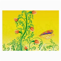 Whimsical Tulips Glasses Cloth (large) by StuffOrSomething