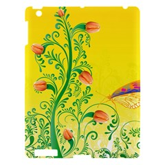 Whimsical Tulips Apple Ipad 3/4 Hardshell Case by StuffOrSomething