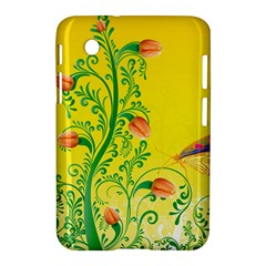 Whimsical Tulips Samsung Galaxy Tab 2 (7 ) P3100 Hardshell Case  by StuffOrSomething