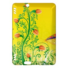 Whimsical Tulips Kindle Fire HDX 7  Hardshell Case by StuffOrSomething