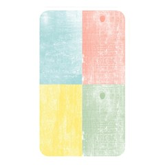Pastel Textured Squares Memory Card Reader (Rectangular) by StuffOrSomething
