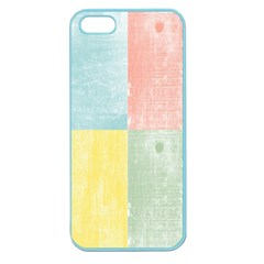 Pastel Textured Squares Apple Seamless Iphone 5 Case (color) by StuffOrSomething
