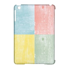 Pastel Textured Squares Apple Ipad Mini Hardshell Case (compatible With Smart Cover) by StuffOrSomething